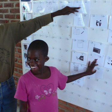 Visualisation - communication at Komera, Mushubati Rwanda