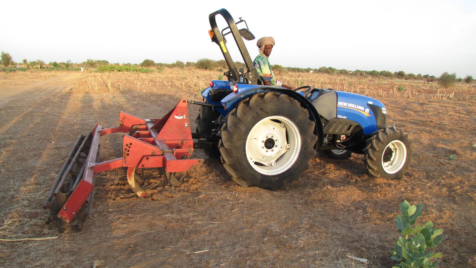 cultivator - tandeg voor de harde afrikaanse bodem