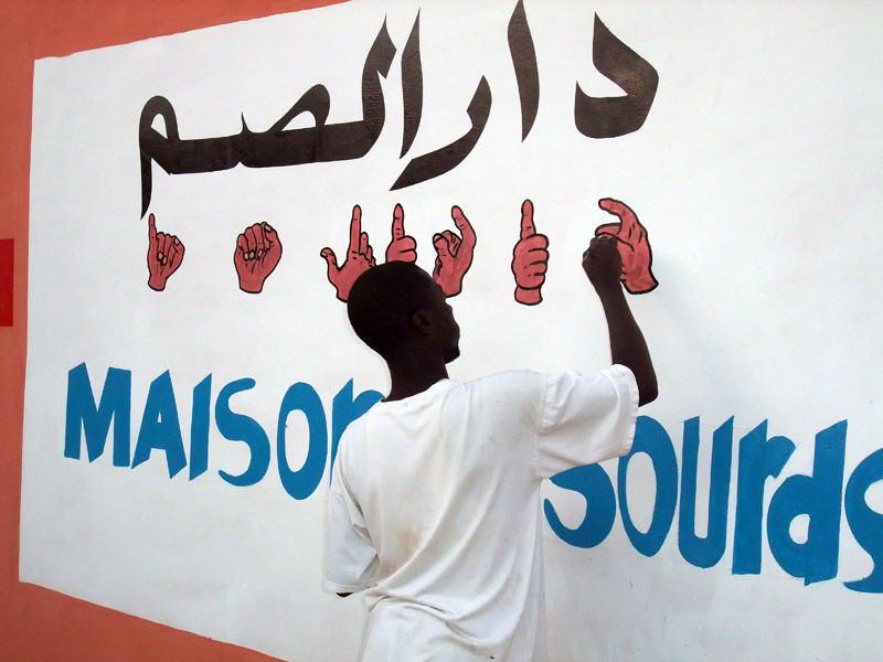 Maison des Sourds - a space to meet, learn and work for the Deaf