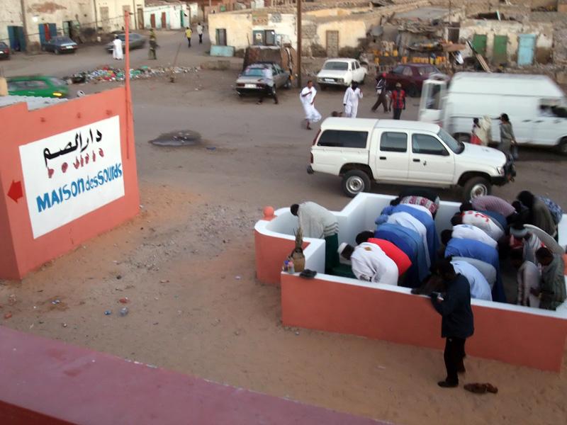 moskee bij centrum voor doven Maison des Sourds