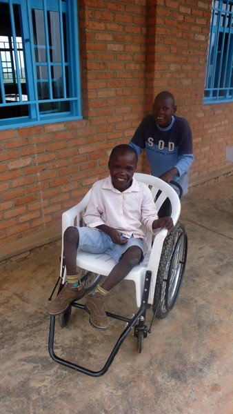 Medical support for Rwandan children