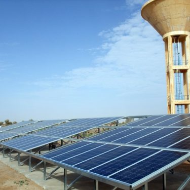 Energie solaire - 150 000 litres d'eau par jour au Sahel