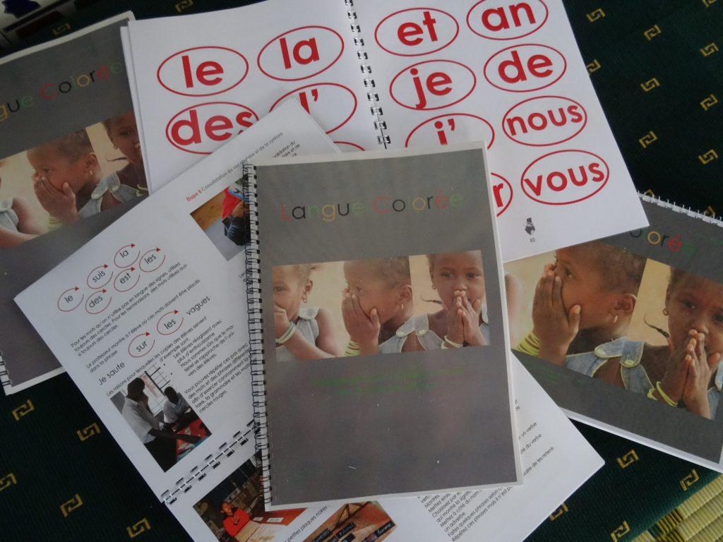 Onderwijsmethode Langue Colorée study books studieboeken